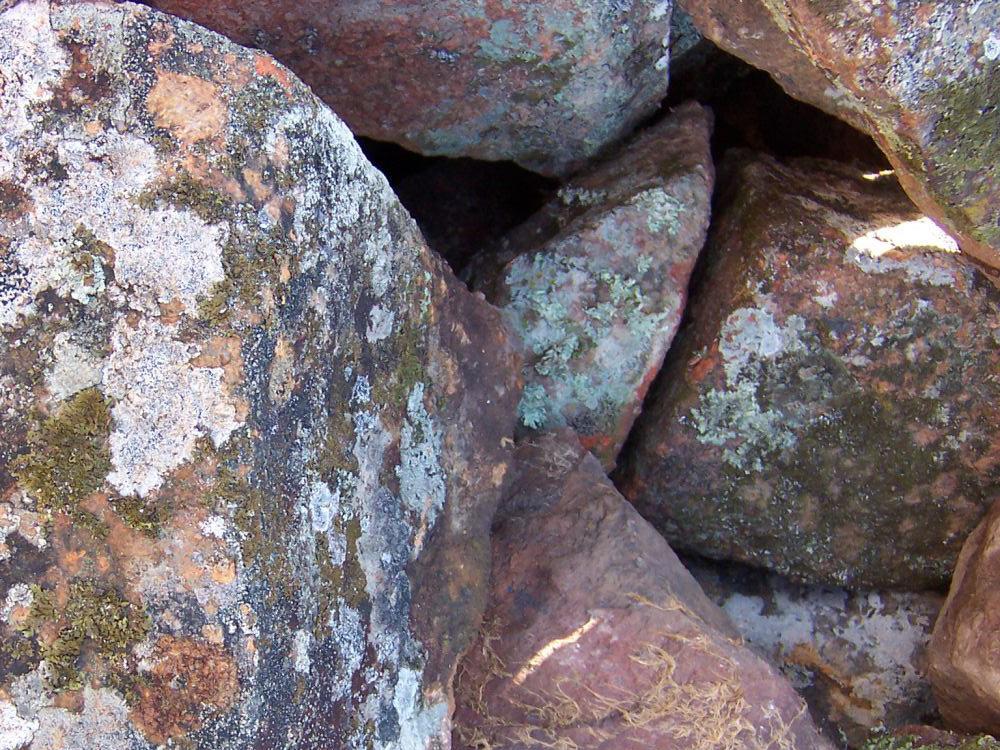 granite bush rock flat