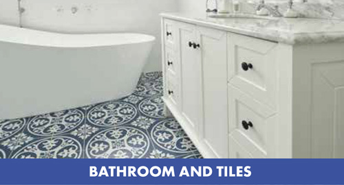 bathrooms and tiles at Gubbins Pulbrook Mitre 10
