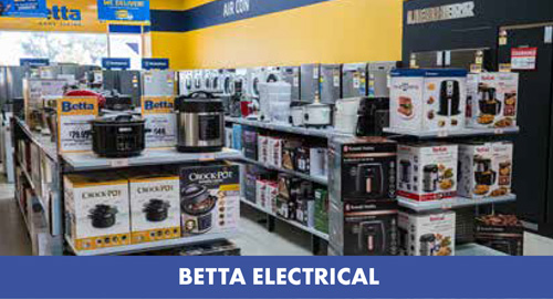 betta electrical at Gubbins Pulbrook Mitre 10