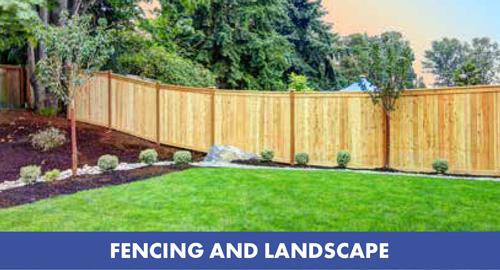 fencing and landscaping at Gubbins Pulbrook Mitre 10